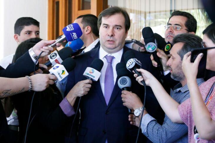 Rodrigo Maia: o governo ajudou, mas, em alguns momentos, atrapalhou