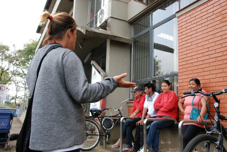 Moradores foram acompanhar a reunião de ontem na Prefeitura