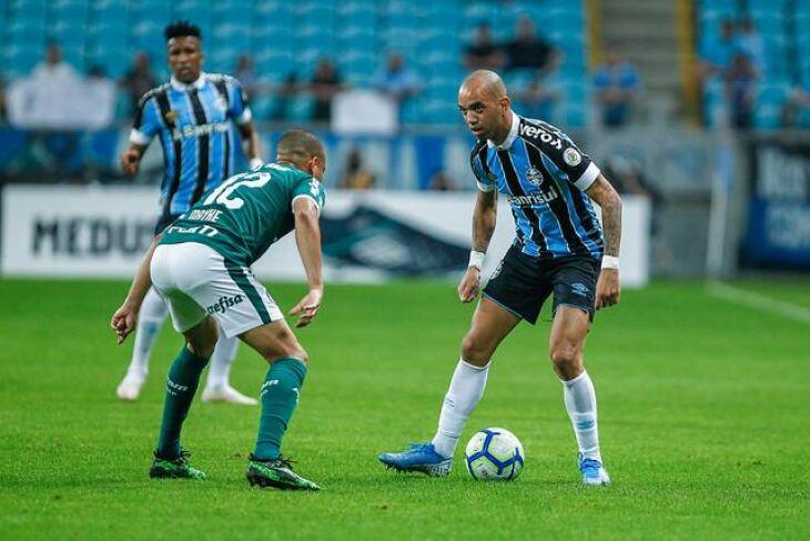 Grêmio e Palmeira jogam novamnte na terça-feira