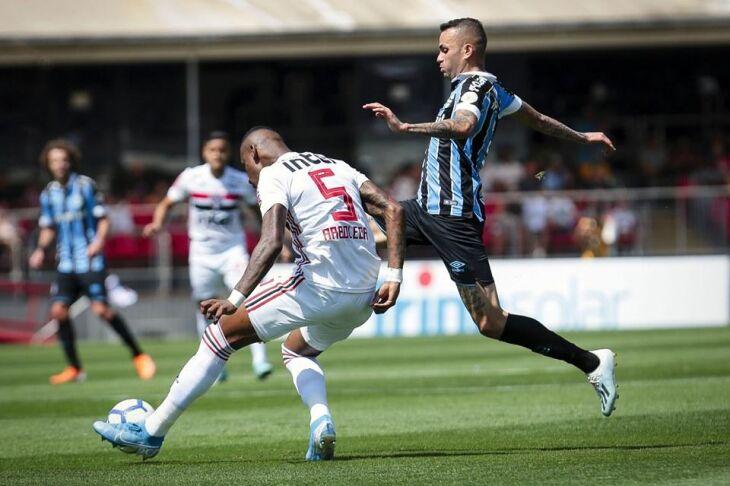 Grêmio usou equipe alternativa diante do São Paulo