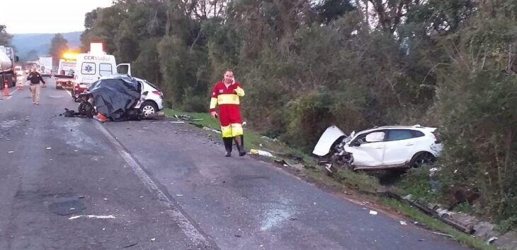 Acidente deixou seis pessoas mortas, sexta-feira