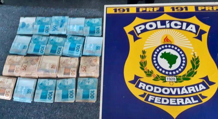 Suspeita é de que dinheiro tenha sido pego em golpe aplicado no Paraná