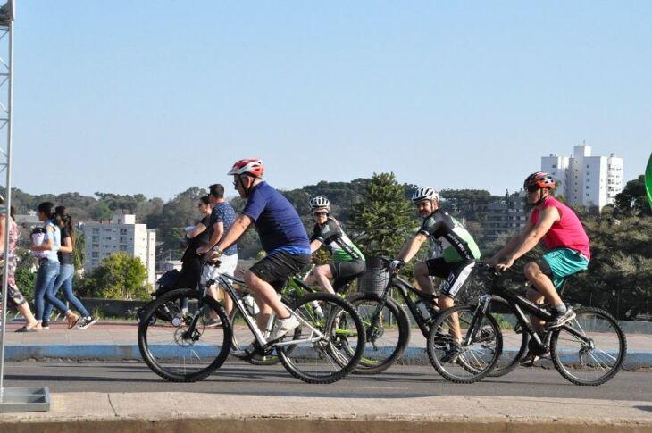 Dia Mundial sem Carro aconteceu domingo em Passo Fundo