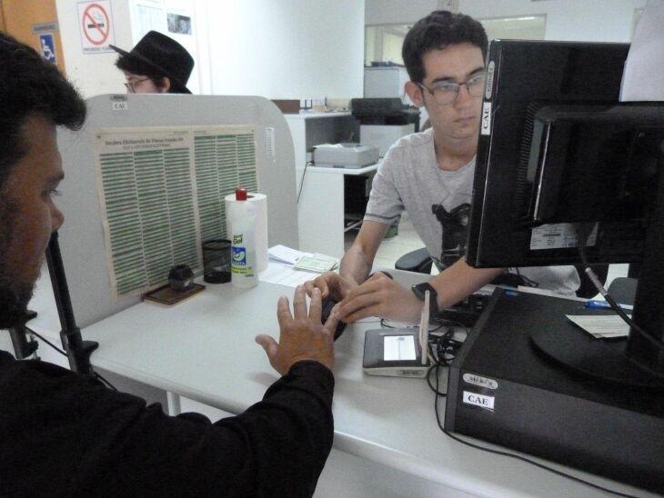Eleitor realizou agendamento pelo site do TRE/RS