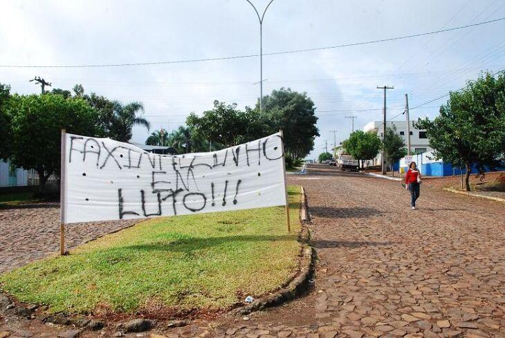 Caso gerou protestos no município de Faxinalzinho