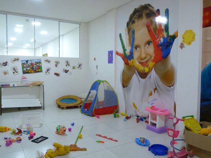 Em Passo Fundo, sede do Conselho Tutelar conta com brinquedoteca, a fim de tornar o ambiente mais confortável para as crianças