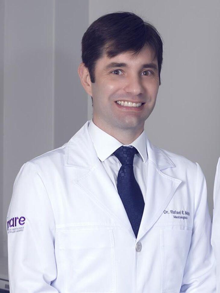 Dr. Rafael Martini é médico mastologista do Hospital de Clínicas de Passo Fundo