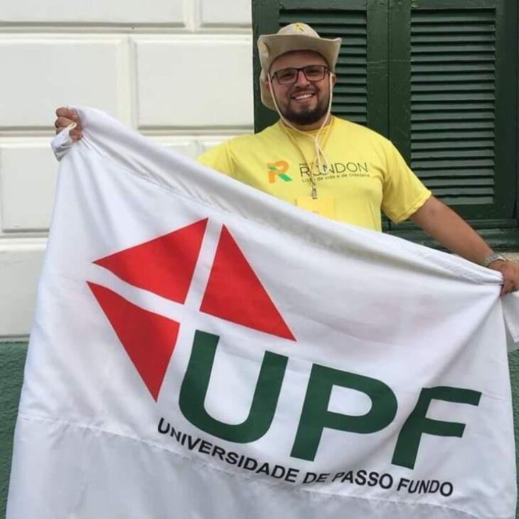 Jovem de Carazinho foi selecionado entre mais de 80 candidaturas nacionais