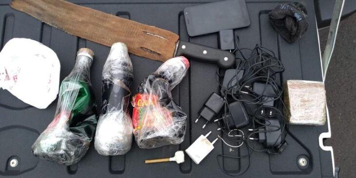 Substâncias e objetos foram encontrados com dois indivíduos
