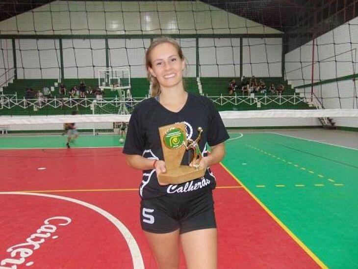 Patricia Rodrigues: jogadora destaque