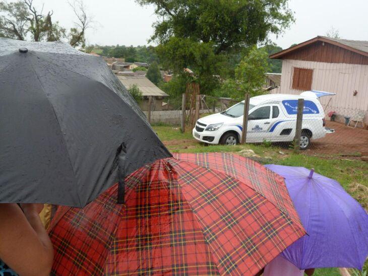 Corpo foi encontrado por jovem que acionou autoridades. Djalma Maestro tinha 46 anos e, segundo a comunidade, era açougueiro