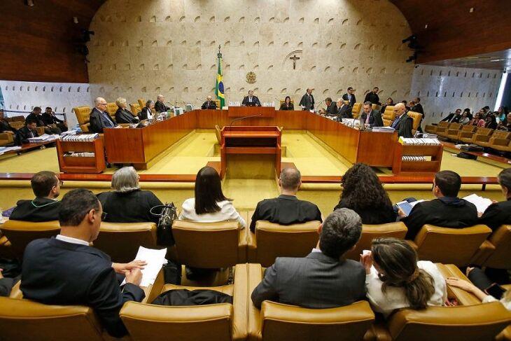 Legenda: Atual presidente do STF, o ministro Dias Toffoli, foi o responsável pelo voto que decidiu o julgamento sobre a prisão em segunda instância.