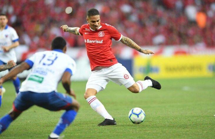 Guerrero foi o autor dos dois gols colorado