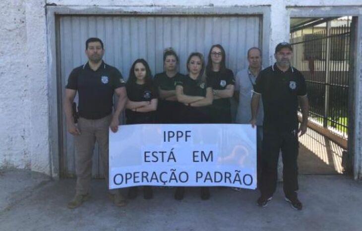 IPPF é um dos mais de 20 centros prisionais a adotar a Operação Padrão no estado
