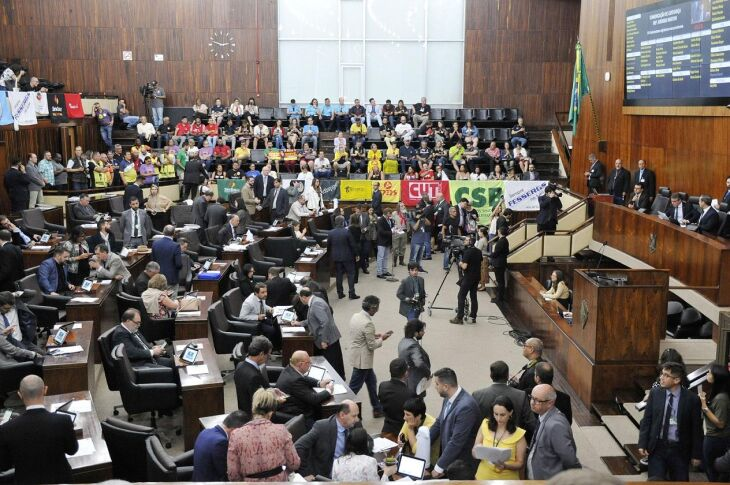 PLC 503/2019 foi apreciado na Assembleia Legislativa na noite de quarta-feira (18)