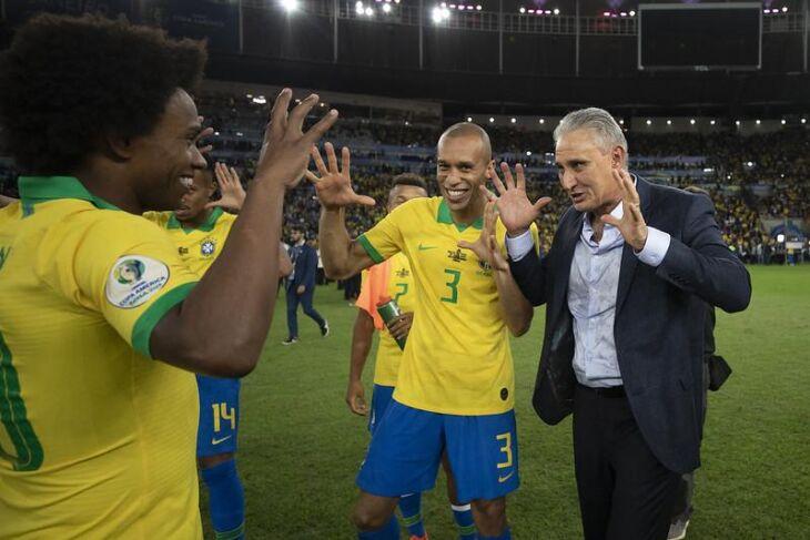 Tite: campanha invicta na Copa América