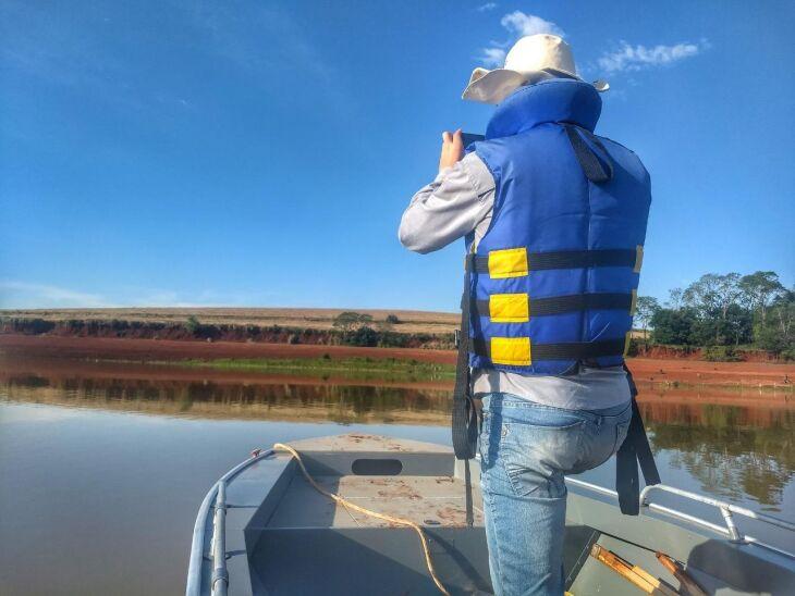 Equipes da usina realizam inspeções específicas e diárias para monitorar lagoas temporárias formadas em períodos de baixa ocorrência de chuvas
