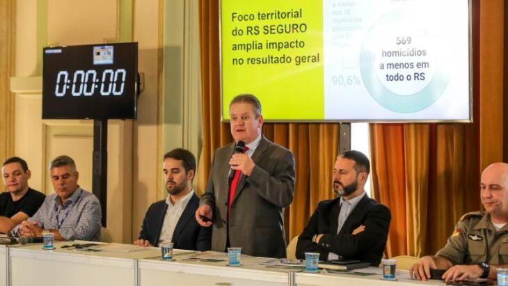 Reunião da Segurança Pública para divulgação dos indicadores criminais de 2019