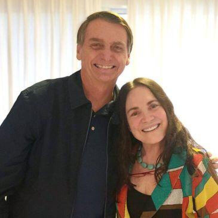 Os dois se encontraram no aeroporto Santos Dumont