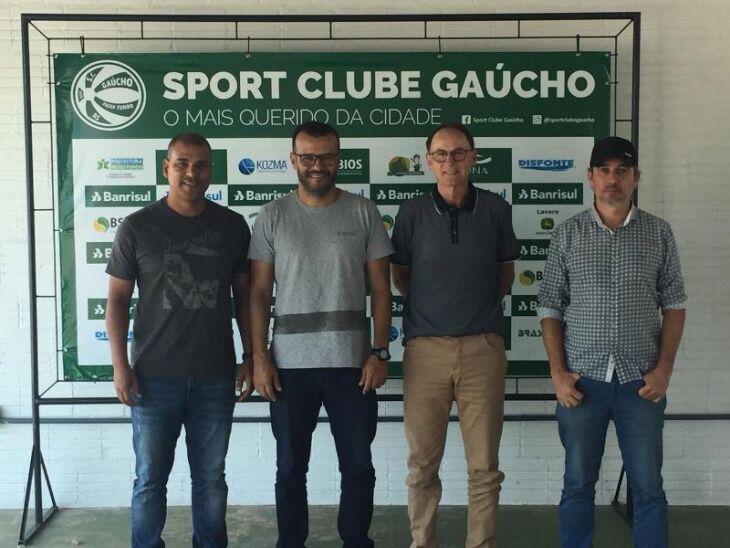 Jé Fredo, Vanderson Pereira, Mário Tito e Glênio Cordeiro