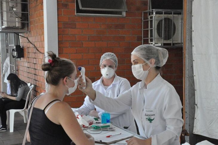 O Centro de Triagem do Coronavírus em Passo Fundo já atendeu mais de 650 pessoas