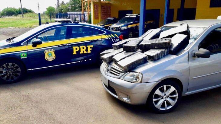 A droga tinha como origem a região da fronteira com o Paraguai